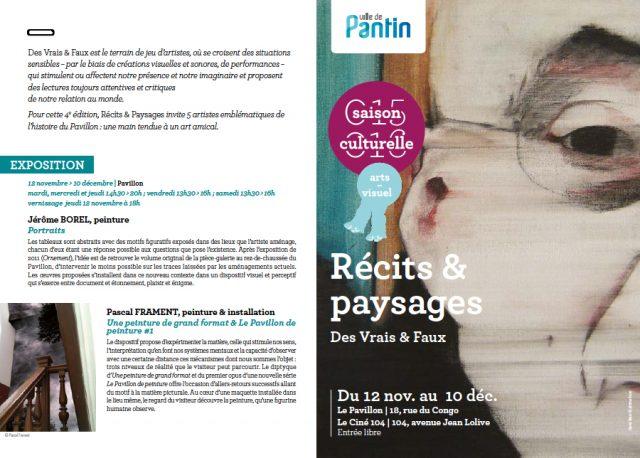 """Invitation """"Des vrais et faux"""" pav"""