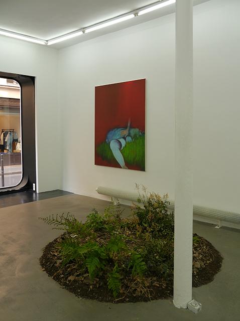 """Vue de l'exposition """"Visitation""""."""